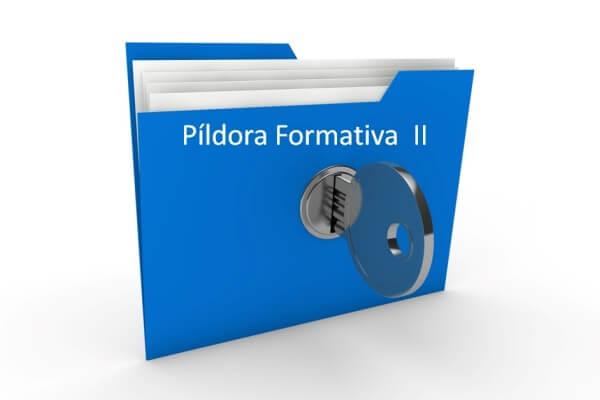 Píldora Formativa II